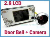 Wholesale quot LCD Digital Video Door Viewer Doorbell Security Camera Cam Super Slim White