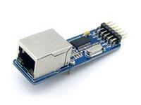 arduino serial ethernet - ENC28J60 Ethernet LAN Network Module SPI Interface RJ45 Connector Ethernet to Serial Converter For Arduino AVR