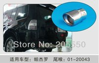 Wholesale Stainless Steel Auto Exhaust Muffler Exhaust Pipe Car Tail Pipes Fit For MITSUBISHI PAJERO