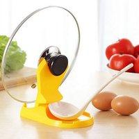 Wholesale Spoon holder Pot Lid Shelf Cooking Tools Storage Kitchen Decor Tool Stand Holder rack Random Color