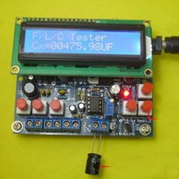 Wholesale Digital LED Capacitance Frequency Inductance Tester Meter microcontroller DIY Kits