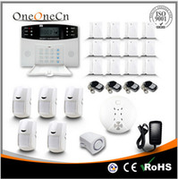 Wholesale Wireless Home Security Digital Burglar Smart GSM Alarm System With Auto Dial LCD Voice B