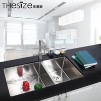 Wholesale Manufacturers selling THESIZE music Seth multifunction manual processing stainless steel sink stainless steel sink
