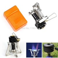 aluminum welding equipment - Mini Outdoor Gas Burner Butane Propane Picnic Camping Equipment Backpacking Gas Camping Stove Cooking
