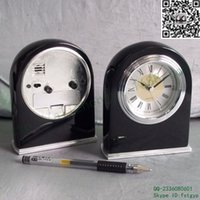 Wholesale Hotel rooms bell custom wood room lights automatically mute Sweep alarm clock bell hacker room
