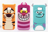 alice soft - 3D Cute Cartoon Monsters Sulley Tigger Alice Cat Soft Silicone Gel Case For Sony Xperia Z1 Z2 Z3 Z4 C3 C4 M4 E4 US01