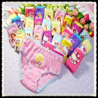 Wholesale Y Girls underwear panties baby underwear calcinha menina cartoon print briefs girl cotton panties