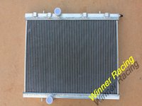 Wholesale WINNER RACING HIGH PERF MM ALUMINUM RADIATOR FOR PEUGEOT GTI RC