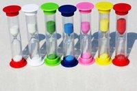 sand timer hourglass - Mini Hourglass Sandglass Sand Clock Timer Seconds Minutes colorful hourglass beautiful homedecoration