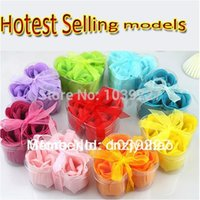 Cheap soap boxes wholesale free shipping Best SOAP ROSE