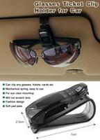 Cheap Mini Protable S shape Car Sunglasses Clip Holder DRAGON Glasses Ticket Clip Car Holder