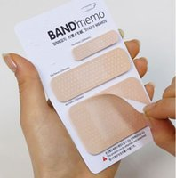 band pages - Hot Sale piece Creative Stationery Band Aid Modelling Post it Notes Paging Post it Note Pads