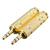 av headphone adapter - 3 mm Male to mm quot Female Jack Plug Stereo Headphone Microphone Audio Adapter Converter AV Gold Plated