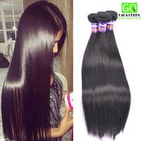 beauty bundles - 4Bundles Brazillian Straight Hair Beauty Grace Hair Products Cheap Brazilian Human Hair Weave A Brazilian Virgin Hair Bundle Deals