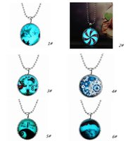 best christmas present - The new Christmas presents new strange glow necklace alloy resin system Fashion trendy The best gift is the family and friends