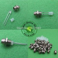 Cheap 100pcs 3mm Chrome Metal LED Best Chrome Metal