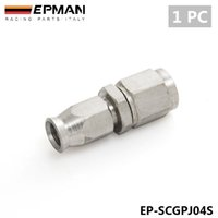 Wholesale EPMAN PC Fittings Adaptor PTFE Teflon Swivel Hose End Straight Fuel Adapter AN AN3 EP SCGPJ04S PC
