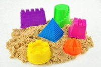 Wholesale 500g Magical sand Castle Model Tool Children s educational toys DIY Novelty Indoor Play Clay Magic Sand hot sales