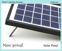 Wholesale New Arrival Solar Lighting System Solar Lamp Lighting Solar Panel and AC100 V Charging USB Electronic Products Charging