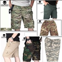 army bdu shorts - EMERSON BDU Tactical Shorts Military army casual color MC ACU OD CB VEG Jungle