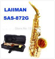 Wholesale New High Quality France LAIIMAN SAS G alto saxophone Electrophoresis Gold E flat Alto Saxophone