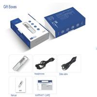 Wholesale MiiRii Recorder pen GB GB PCM Recording VOR Digital Audio Voice Recorder Dictaphone Mini Pen USB MP3 Player Black With Retail Box