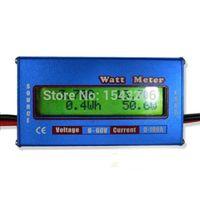 Wholesale New Digital LCD For DC V A Balance Voltage RC Battery Power Analyzer Watt Meter