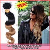 Wholesale fast shipping virgin Brazilian hair ombre human body wave sanxin hair a grade tone nephele hair weave coupon