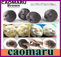 Wholesale Japanese Gray outlets at balls CAOMARU Hot SellinG Vent Human Face Ball Anti stress tool