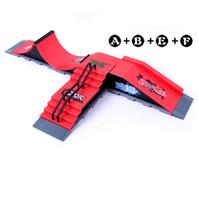 finger skate board - Model A B E F Mini Ramp Finger Skateboard Park Tech Deck Skate Park Includes Finger Board