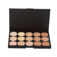 Wholesale 15 Full Colors Excellent Contour Palette Facial Concealer Palette Face Care Primer Makeup Tool Set