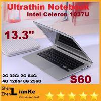 Wholesale DHLFREE inch laptop computer intel Celeron U GHZ Dual Core GB GB windows camera laptop notebook Resolution HDMI