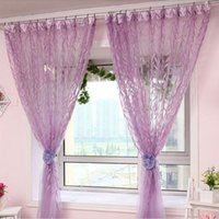 Wholesale Chic Room Willow Pattern Voile Window Curtain Window Screen Curtain New MTY3