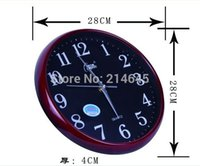 Wholesale M48 quartz wall clock working in silent movement without tic tac sound