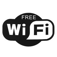 art wifi - Lowest Price WiFi Vinyl Sticker Decal Sign For Cafe Restaurant Bar Pub Shop Internet Excellent Quality