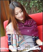 air storm - National storm simmias bee tassel jacquard scarf shawl trade of single female air conditioning
