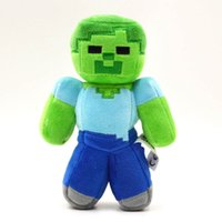 Wholesale Minecraft zombie push toys stuffed toys cm high minecraft toys toy minecraft zombie push for children
