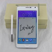 Wholesale 5 inch Note SM N9100 MTK6582 Quad Core Smartphone Android4 Unlocked MP camera HD pixels GB Ram GB Rom LTE G