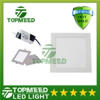 2200ln 120 CE Square Led Panel Light SMD 2835 9W 12W 15W 18W 21W 25W 2200LM 110-240V Led Ceiling lights spotlight downlight lamp bulb + drivers 10