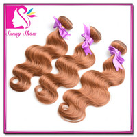 elites hair - 50 OFF DHL Fedex Brazillian Virgin Remy Human Hairs Body Wave Weft Weave Medium Brown Elites Hair Queen Hair products g pc