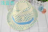 Wholesale Stylish Summer Women Resist Radiation Hat Bucket Hat Retro Topper And Round Top Caps