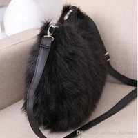 Wholesale New Style Fashion Handbag Totes Women Bag Plush Winter Bag Lady Shoulder Bag LY R04