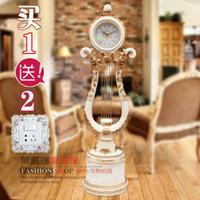 Wholesale Europe style antique floor clock Living room floor clocks modern wood floor standing watch clock