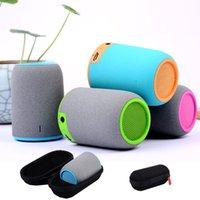 bags surroundings - With retail Zipper bag minikin wireless bluetooth speakers on board portable HIFI mini speaker subwoofer for iphone Samsung HTC PSP IPAD