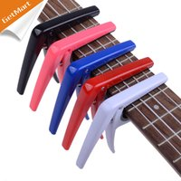 Wholesale Colourful High Quality Ukulele Gutiar Capo Engineering Plastic Capo Colour