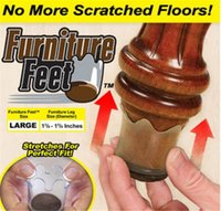 Wholesale Furniture Feet Flexible Floor Protector pack quot x quot quot With Logo Packing