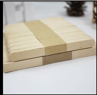 bar building materials - Party decorative building model material DIY handmade wooden ice cream stick bars painted wood strips