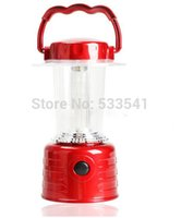 Wholesale LED Bivouac Camping Hiking Reading Boating Tent Lantern Light Lamp Red