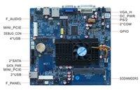 amd dual cpu motherboards - M432 ITX HCMF2E21C AMD T56N Dual core CPU Embedded Motherboard COM SATA USB GPIO Mini PCIE Giga LAN V DC PWR DDR3 VGA DVI LVDS