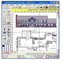 architectural window - Architectural Interior Design Software HomePlanSoft Home Plan Pro v5 ENGLISH